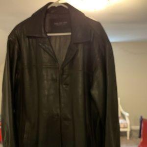 Men's leather jacket /blazer
